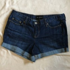 Banana Republic Factory Denim Cuffed Shorts 8/29